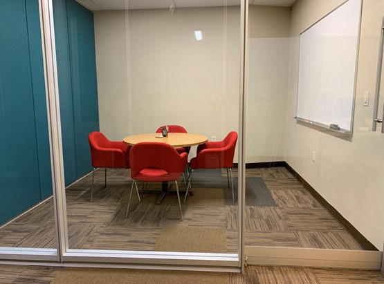 Small Meeting Room  (up to 4 people)